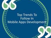 Trends Follow Mobile Apps Development