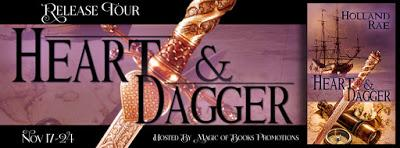 New Release: Heart & Dagger by Holland Rae
