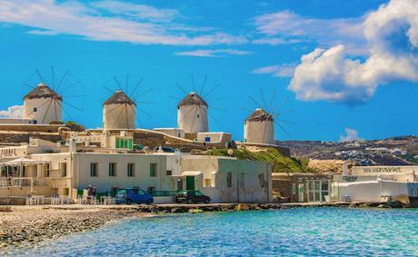 Mykonos - Island hopping in Greece