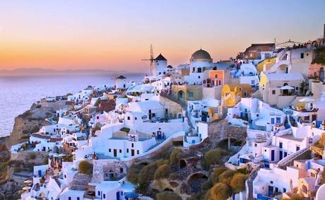 Santorini - Island hopping in Greece