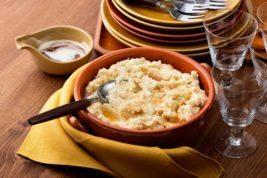 Browned butter cauliflower mash