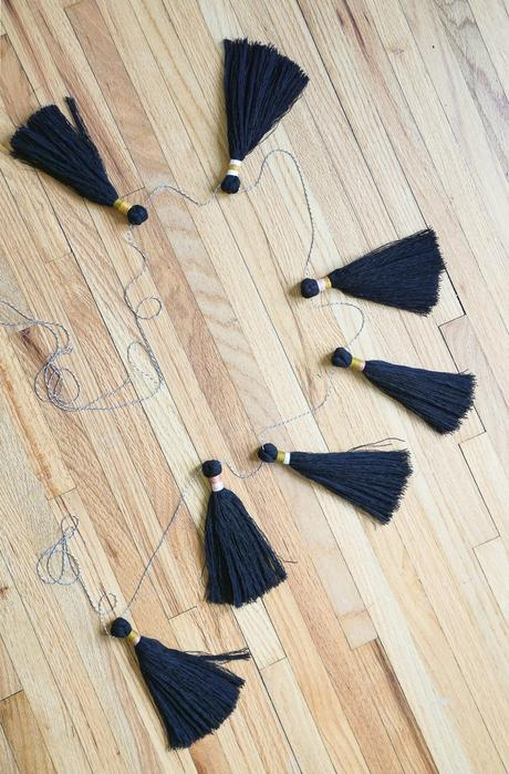 DIY Holiday Tassel Garland with The Forest Fern