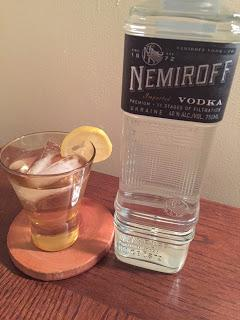 Fending For Yourself With A Cocktail In Hand:  Nemiroff Vodka