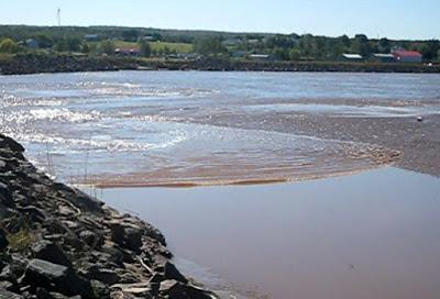 CANADA'S BAY OF FUNDY: Watch a Tidal Bore Crawl Up a River, Guest Post by Caroline Hatton
