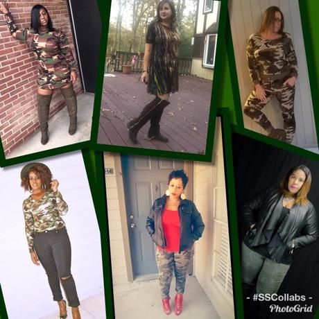 Camouflage Looks To Inspire!