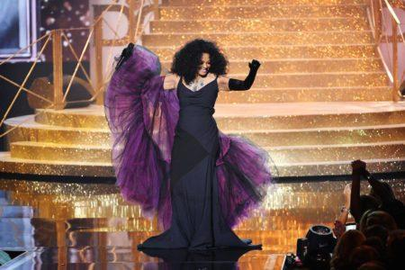Diana Ross Proved Why She's The Boss At Sunday Night's AMA's