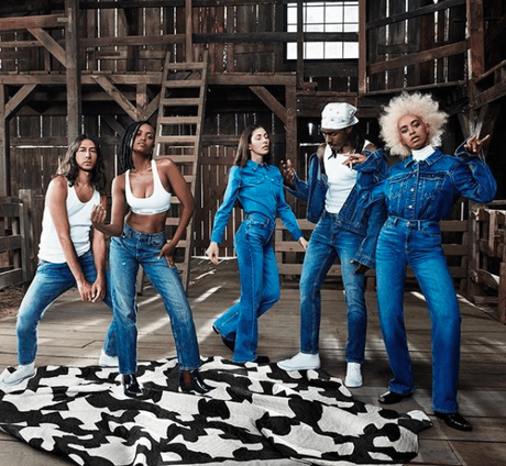 Solange Face Of Calvin Klein Fashion Campaign 'My Family..My Calvins'