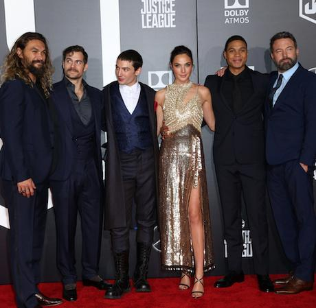 'Justice League' film premiere, Arrivals, Los Angeles