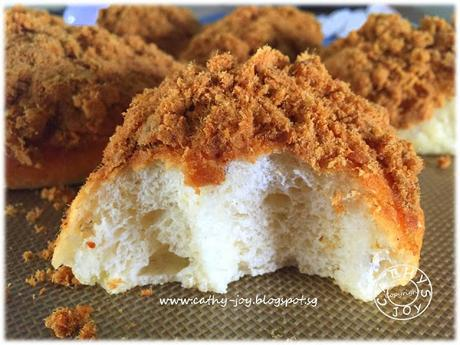 Flaxseed Pork Floss Buns