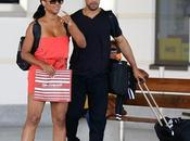 Kenya Moore Marc Daly Spotted Leaving Barbados