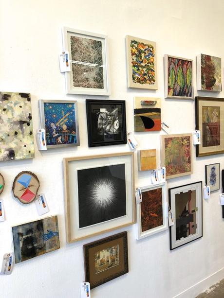 Montserrat College of Art Small Works Sale Beverly Massachusetts