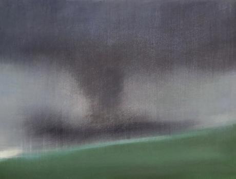 Boston Artist Laura Fischman Abstract Landscape Painting