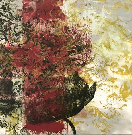 Boston Artist Dorothea Van Camp Abstract Painting