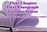 First Chapter ~ First Paragraph (November 21)