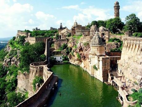 Rani Padmavathi ~ Chittor Fort ... and ruins of Nalanda