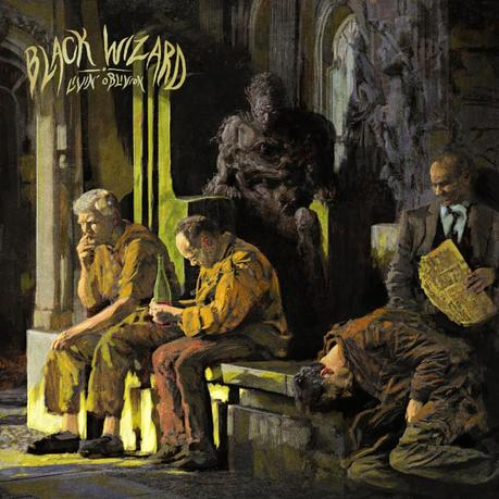 BLACK WIZARD: Heavy Metal/Stoner Rock Collective To Release Livin' Oblivion Full-Length This February Via Listenable Records; Artwork And Track Listing Revealed