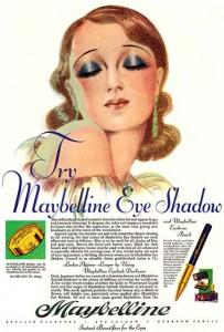 Ladies we owe a debt of gratitude to a young lady called Maybel Williams Maybelline's namesake