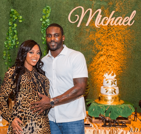 Michael and Kijafa Vick Just Welcomed A Baby Boy!