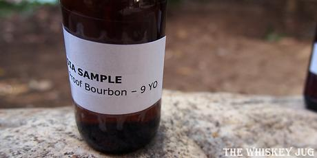 Redemption 9 Year Barrel Proof Bourbon Label