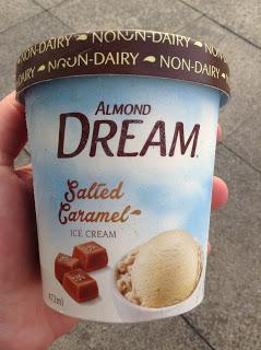 Almond Dream Salted Caramel Ice Cream