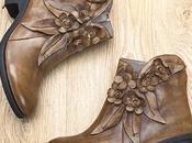 Handmade Genuine Leather Socofy Boots: Comfy Fashion