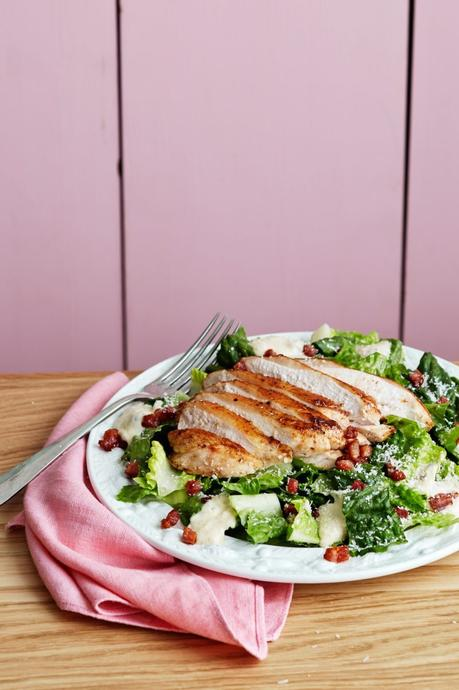 Keto Caesar salad