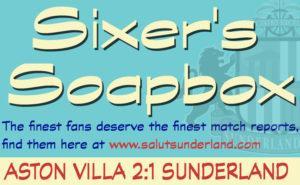 Sixer's Aston Villa Soapbox: neither a bang nor a whimper
