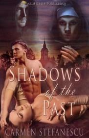 Book cover of Shadows of the Past by Carmen Stefanescu   Blushing Geek