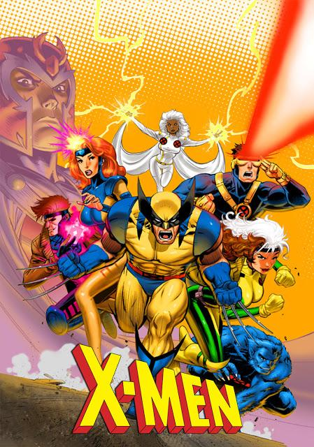 X-Men: The Animated Series -  promotional image.