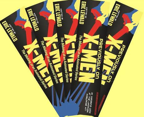 The 'Previously on X-Men' Matching Bookmarkers