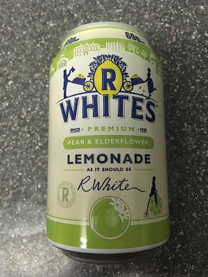 Today's Review: R Whites Pear & Elderflower Lemonade