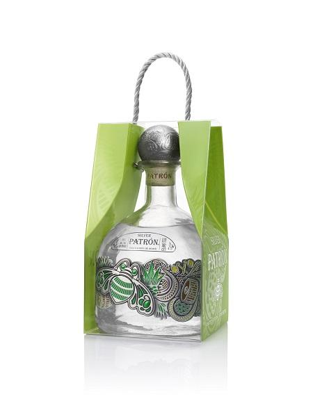 Patrón Tequila Silver One-Liter Limited Edition Bottle