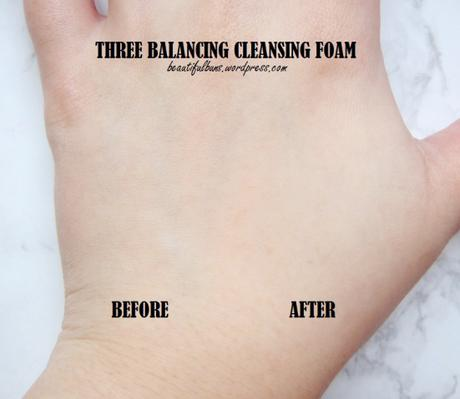 Review: Three Balancing Cleansing Foam
