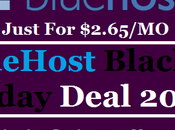 Bluehost Black Friday Deal 2017: Just *$2.65/mo* Months.