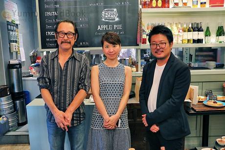 (Left) Hal Suzuki - MD of Planet Ads & Design, (Centre) Hisae Sakamoto - SINLESS creator, (Right) Makoto Oiishi - MD of Planet Ads & Design