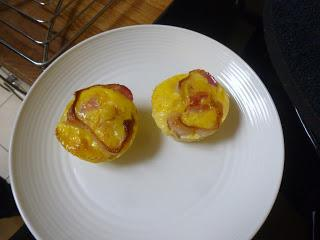 Soup ... and Egg and Bacon Breakfast Muffins