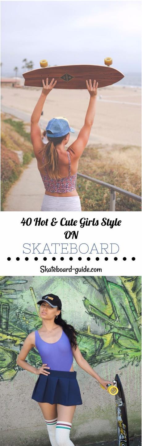 40 Hot & Cute Girls Style on Skateboard – Girls Skateboarding Photography