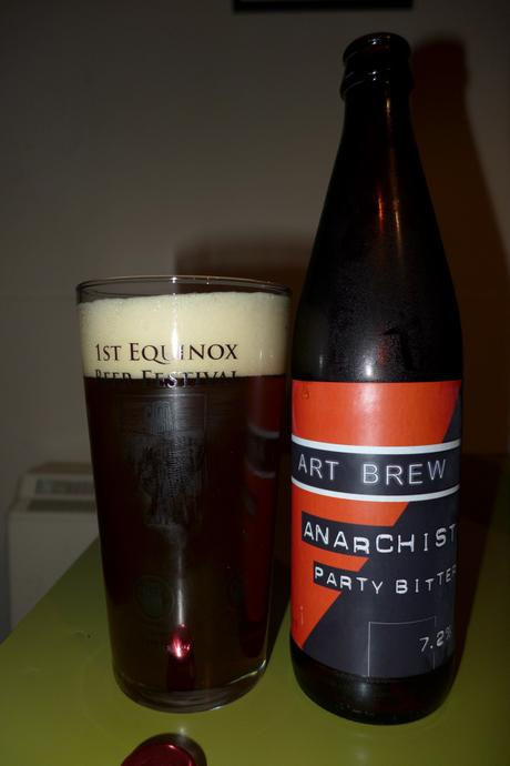 Tasting Notes:  Art Brew: Anarchist Party Bitter