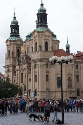 Prague 1:   Old Town Square  [Sky Watch Friday]