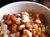Macaroni Cheeze with Buffalo Chickpeas