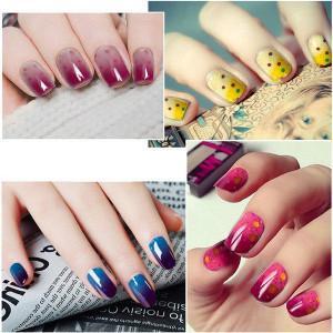 festive nail polish