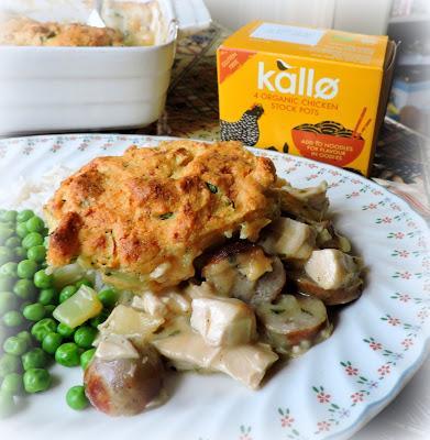Cheesy Cornbread Turkey Pot Pie