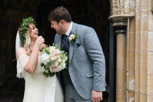 Wedding at St. Wilfred's Church in Brayton