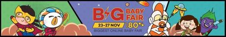 Lazada's Big Baby Fair! The Ultimate Sale Season To Shop For Your Little One!