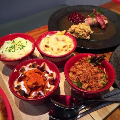 Celebrating Thanksgiving at Ad Lib, Glasgow