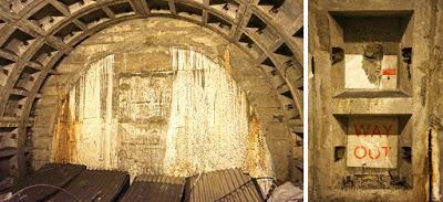 Tunnels under Trafalgar Square