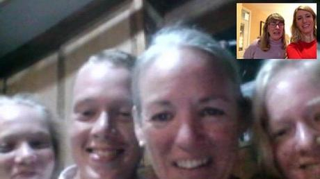 So happy to see family - thanks for the screenshot Glenna!