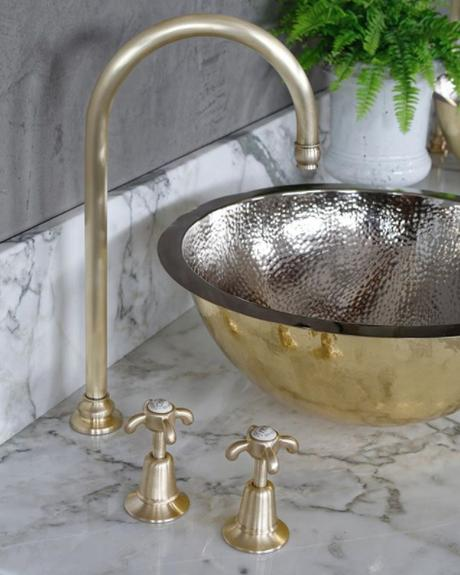 It's all about the detail! Add these beautiful La Loire Brass Taps by Catchpole and Rye for a touch of timeless elegance.