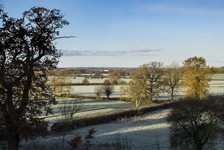 I'm a Celebrity...Got Me Out Here - Frosty weather over the Ouse Valley
