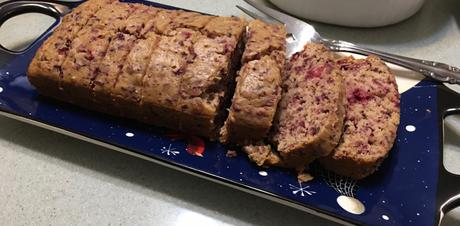 Cranberry and Toasted Pecans Holiday Bread